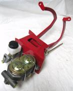 Street Rod Universal Red Manual Clutch Pedal Assembly Master Cylinder