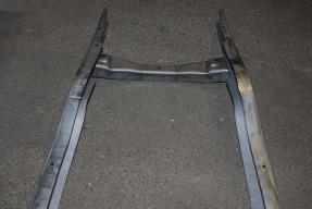 1932 Ford Frame Rails w Mounting Holes + Front Crossmember '32 Deuce Coupe