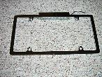 Chrome Steel License Plate Frame w/ Light ford chevy gm