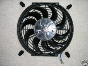"12"" Electric Cooling Fan Pro Series Radiator Street Rod"