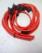 10.2 MM Red Over Header HEI Spark Plug Wires