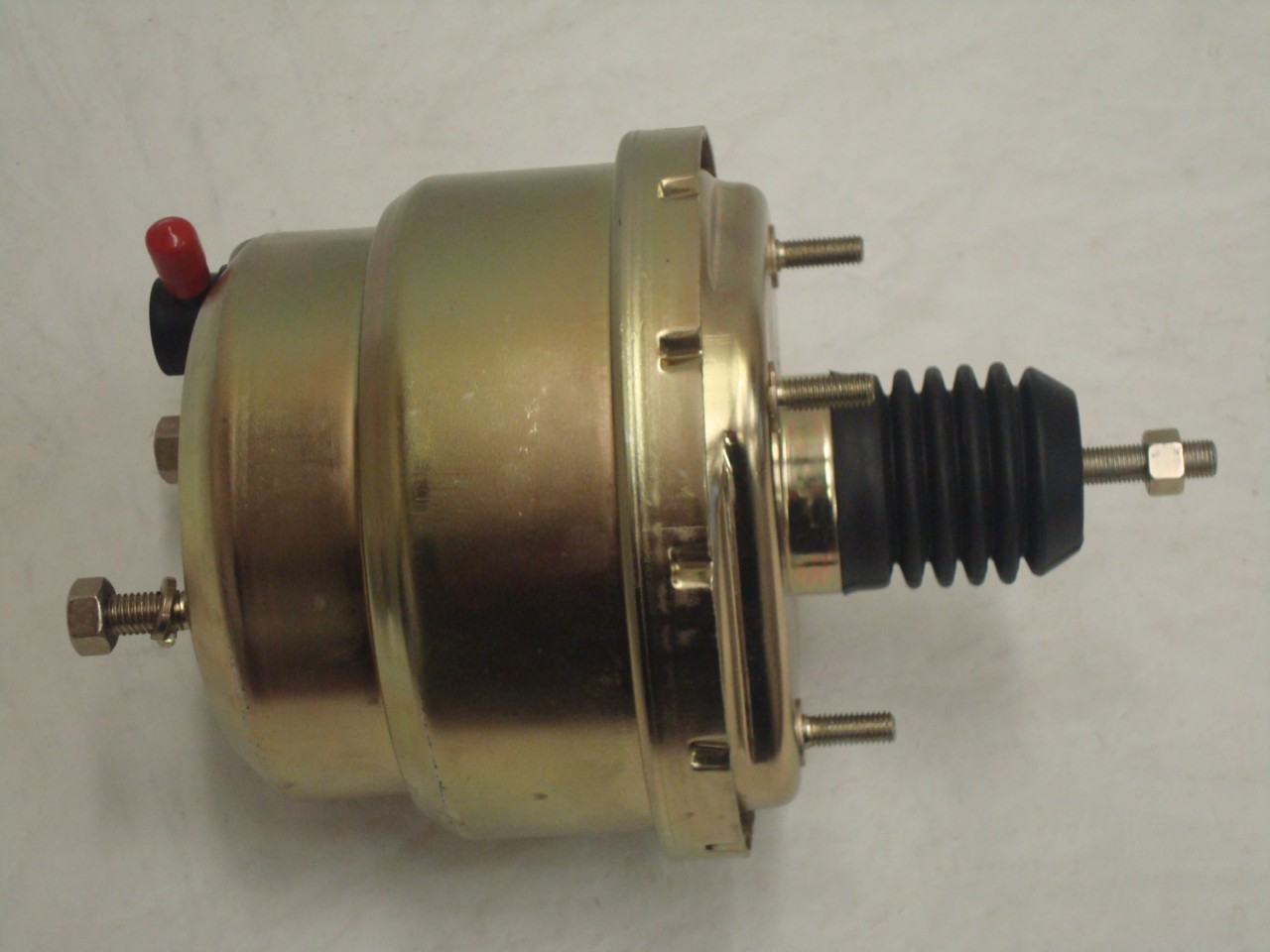"Universal 7/"" Chrome Street Rod Power Brake Booster Ford Chevy"