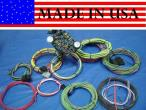 USA MADE GEARHEAD 21 CIRCUIT GM CHEVY STREET ROD  WIRE HARNESS COLOR CODED