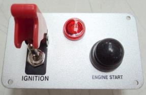 Racing Switch Panel Push Button Start Aircraft Type Toggle