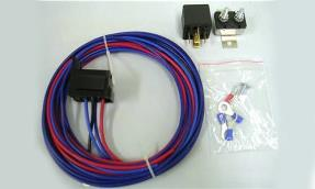 40 amp electric water pump relay kit w wires street rod