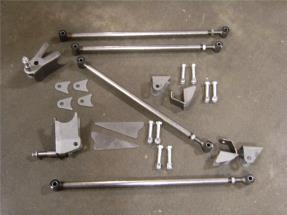 1933 1934 Ford Triangulated 4 Link Kit - Gearhead Enterprises