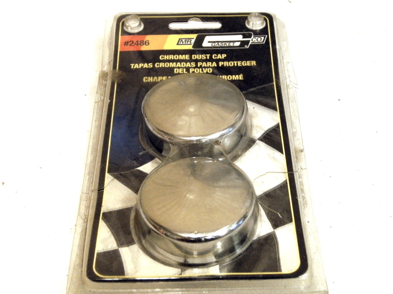Mr Gasket Wheel Bearing Dust Cap 2486;